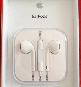 Наушники оригинальные Apple EarPods