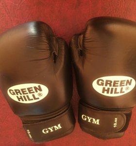 Боксёрские перчатки Green Hill Gym