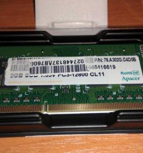 PC3-12800 CL11 1.35В 2ГБ SODIMM