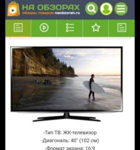 Телевизор Samsung модель UE40ES6307