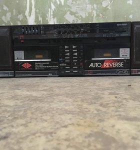 Магнитофон кассетный Sharp QT95