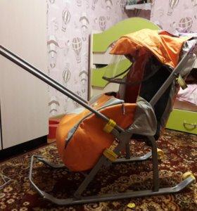 Санки-коляска Ника- детям 3