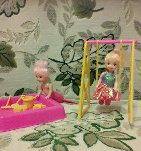 Продам песочницу для маленьких кукол.