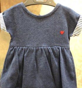 Платье-боди Mothercare, 56 см