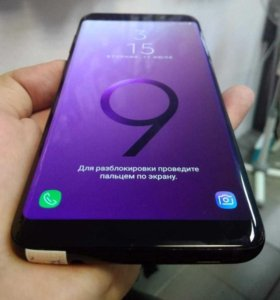 Samsung s9/64 gb. 4G Nano sim Duos
