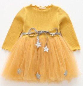 милые платья ZARA KIDS