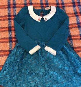 Продам комплект Family Look (2 платья и пуловер)