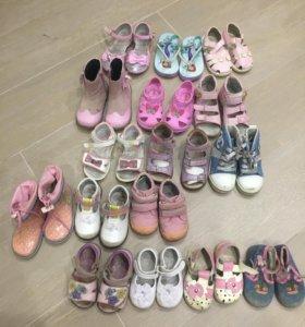 Обувь на девочку 20-24 размеры