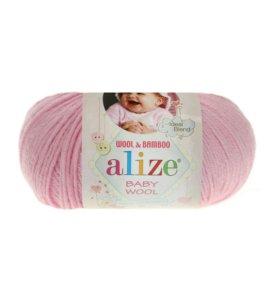 Пряжа Baby Wool Alize (Бэби Вул)