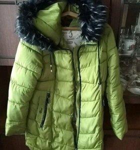 Куртка ,зима.Очень теплая .