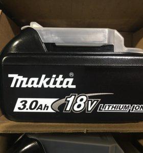 Новые Аккумуляторы Makita 18V, 3 Ah
