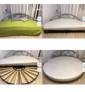 Диван кровать груглый