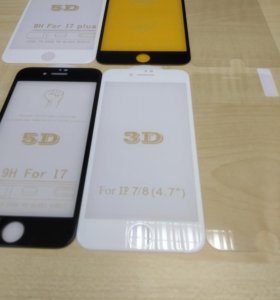 Защитные стекла Apple iPhone 4/5/6/7/8/X/XR/XS