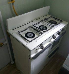Плита 3-х комфорочная, с духовкой