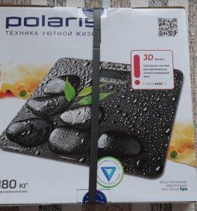 Весы электронные напольные Polaris 1831DG, новые