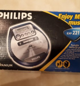 MP3-CD плеер PHILIPS EXP 221