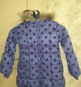Новая куртка зимняя, рост 116