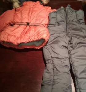 Куртка+комбинезон зимние