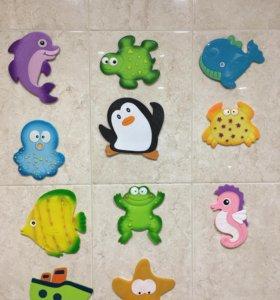 Мини коврики для ванной valiant на присосках