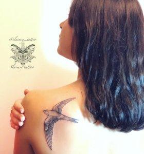 Тату, художественная татуировка, Slaimsy_tattoo