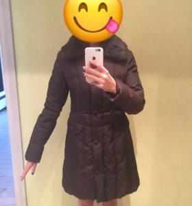 Женская зимняя куртка-пальто