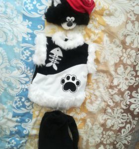 Новогодний костюм кота-пирата