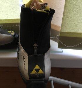 ботинки для беговых лыж детские  Fisher
