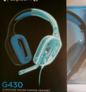 Игровая гарнитура Logitech G430 7.1