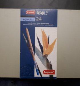 Акварельные карандаши Brynzeel