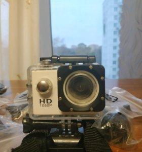 Экшен камера 1080p 30fps