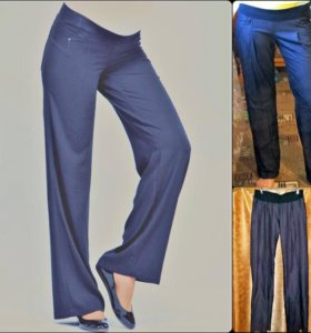 брюки для беременных пояс-резинка низкий бандаж