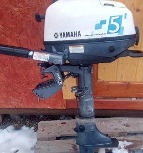 Лодочный мотор yamaha F5amhs (4х-тактный)