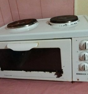 Электропечь с духовкой.