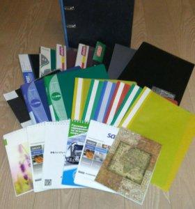 Папки, файлы, блокноты