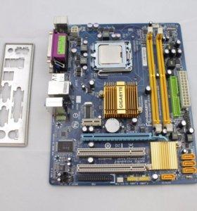 Gigabyte GA-G31M-ES2L s775, DDR2