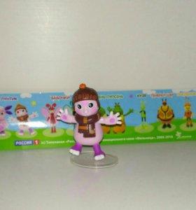 Лунтик и его друзья, игрушки из шоколадных яиц
