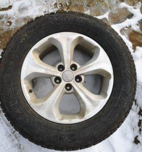 зимние шины с литыми дисками 235*65 R17