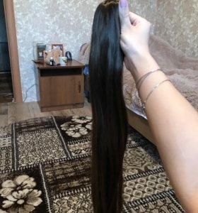 Волосы на заколке, новые ( исскуственные)