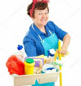 Уборщица на полный день