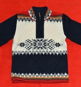 Шерстяной свитер Scandicа.Размер 92-98