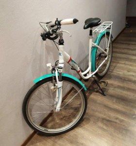 Классный женский велосипед kross libero