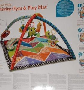 Детский коврик Activity Gym с дугой