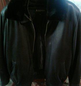 Куртка54-56размер натуральная кожа