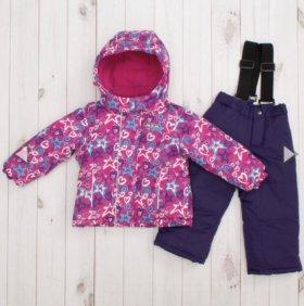 Комплект зимний: куртка + брюки, новый