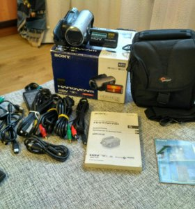 HDV видеокамера Sony HDR-HC3E