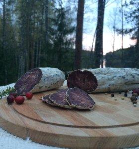 Мясные деликатесы и колбаса из дичи