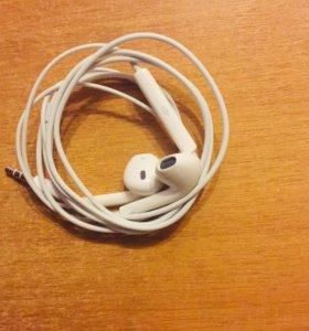 Наушники Apple EarPods IPhone 6 - 5 оригинал