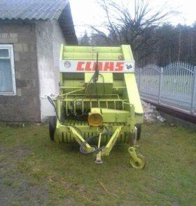 Пресс подборщик Claas Rollant 44 класс рулонный
