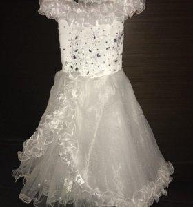Платье Новогодние на 5-7лет