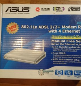 Маршрутизатор ASUS DSL-N11